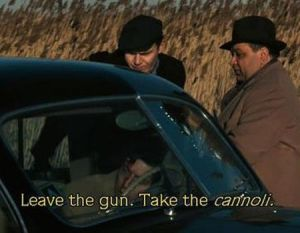 the-godfather-cannoli-unscripted-scene